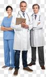 Сlipart Doctor Healthcare And Medicine Medical Exam Nurse Team photo cut out BillionPhotos