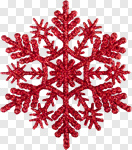 Сlipart Snowflake Christmas Red Symbol Decoration photo cut out BillionPhotos