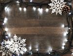 Сlipart christmas light light holiday wood background photo  BillionPhotos