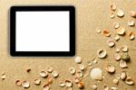 Сlipart beach children view tablet top   BillionPhotos