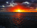 Сlipart Sunrise Beach Sea Dawn Sun photo  BillionPhotos