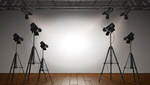 Сlipart Spotlight Stage Lighting Equipment Illuminated Hollywood - California 3d  BillionPhotos