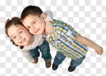 Сlipart Child Little Boys Cheerful Happiness Smiling photo cut out BillionPhotos