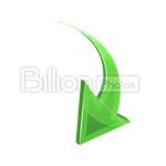 Сlipart Arrow Sign Symbol Curve Direction Bent vector icon cut out BillionPhotos