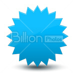 Сlipart label stamp zigzag emblem badge vector icon cut out BillionPhotos