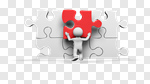 Сlipart Puzzle Service Three-dimensional Shape Design Action 3d cut out BillionPhotos