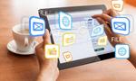 Сlipart Hands holds digital tablet Digital Tablet People Coffee Information Medium   BillionPhotos