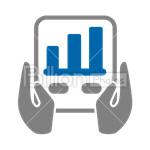 Сlipart Business Finance Chart Graph Arrow Sign vector icon cut out BillionPhotos