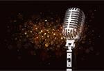 Сlipart Microphone Retro Revival Jazz 1940-1980 Retro-Styled Imagery 1940s Style   BillionPhotos