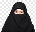 Сlipart muslim woman arab arabic background photo cut out BillionPhotos