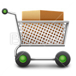 Сlipart cart basket trolley order market vector icon cut out BillionPhotos