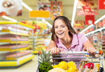 Сlipart Supermarket Female40 Shopping Cart Shopping Groceries   BillionPhotos