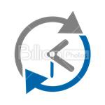 Сlipart Clock Time Alarm Clock 24 hours vector icon cut out BillionPhotos