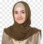 Сlipart arab arabic head scarf islam photo cut out BillionPhotos