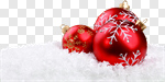 Сlipart Christmas Backgrounds Snow Christmas Ornament Winter photo cut out BillionPhotos