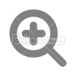 Сlipart zoom in zoom zooming in zooming zoom plus vector icon cut out BillionPhotos