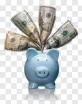Сlipart Piggy Bank Savings Currency Tax Happiness photo cut out BillionPhotos