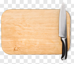 Сlipart Cutting Board Kitchen Knife Isolated Kitchen Utensil Wood photo cut out BillionPhotos