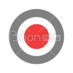 Сlipart stop circle round button push button vector icon cut out BillionPhotos