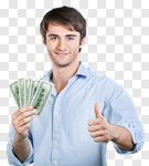 Сlipart guy money man isolated economics photo cut out BillionPhotos