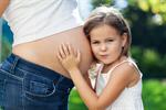 Сlipart pregnant woman child hands baby photo  BillionPhotos
