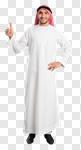 Сlipart man arab arabic saudi side view photo cut out BillionPhotos