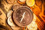 Сlipart Compass Currency Finance Direction Sepia Toned photo  BillionPhotos