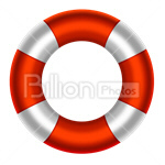 Сlipart Life Belt Buoy Rescue Assistance Protection vector icon cut out BillionPhotos