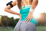 Сlipart back pain painful woman sportswoman photo  BillionPhotos