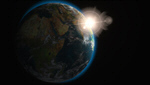 Сlipart Earth Space Planet Sun Sunrise 3d  BillionPhotos