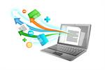 Сlipart Internet Education e-learning Computer Laptop vector  BillionPhotos