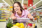 Сlipart Supermarket Female Shopping Cart Shopping Groceries   BillionPhotos