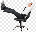 Сlipart relax relaxation businessman work dream photo cut out BillionPhotos