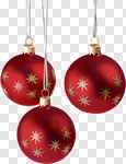 Сlipart Christmas Christmas Ornament Christmas Decoration Decoration Red photo cut out BillionPhotos