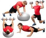 Сlipart Exercising Men Sport Gym Healthy Lifestyle   BillionPhotos