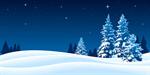 Сlipart Christmas Winter Snow Christmas Tree Backgrounds vector  BillionPhotos