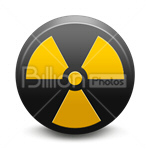 Сlipart nuclear hazard reactor danger uranium vector icon cut out BillionPhotos