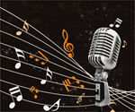 Сlipart microphone mic old retro singing   BillionPhotos