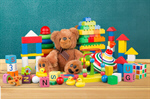 Сlipart toys collection soft preschool closeup   BillionPhotos