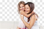Сlipart mother mom toddler cute daughter photo cut out BillionPhotos