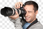 Сlipart Photographer Camera Photograph Men Photographing photo cut out BillionPhotos
