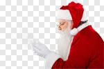 Сlipart santa claus beard wind man photo cut out BillionPhotos