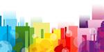 Сlipart Backgrounds Abstract Descriptive Color Multi Colored 1980s Style vector  BillionPhotos