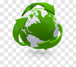Сlipart Recycling Earth Recycling Symbol Environment Environmental Conservation 3d cut out BillionPhotos