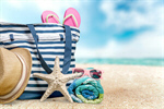 Сlipart Beach Summer Group of Objects Beach Bag Bag   BillionPhotos