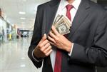 Сlipart Currency Bribing Wealth Stealing Businessman   BillionPhotos