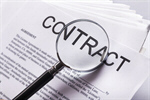 Сlipart Contract Law Legal System Magnifying Glass Business photo  BillionPhotos