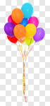 Сlipart Balloon Birthday Party Isolated Celebration photo cut out BillionPhotos