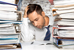 Сlipart Paperwork Document Emotional Stress Frustration Office   BillionPhotos