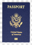 Сlipart Passport USA Travel ID Card Coat Of Arms 3d cut out BillionPhotos